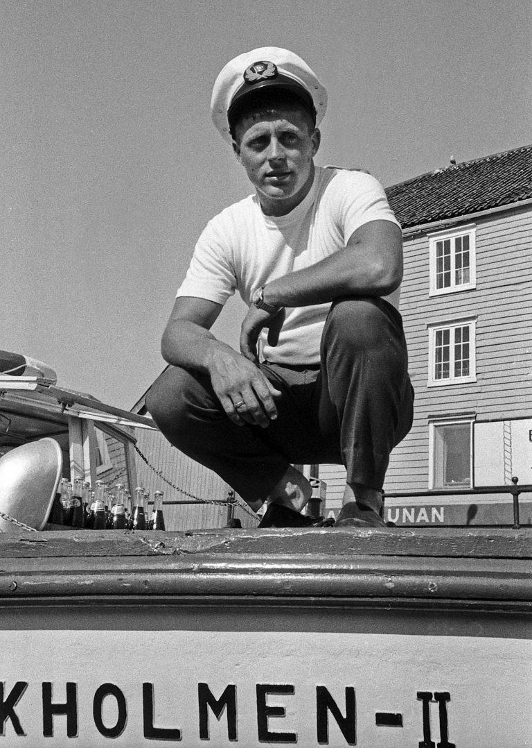 Sommerprat med Herman Valsø.23/7-1965