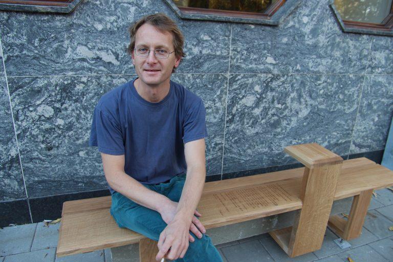 Trond Åm er venstrepolitiker og medlem av byutviklingskomiteen. Han er kritisk til en eventuell utbyggin i Høyskoleparken.