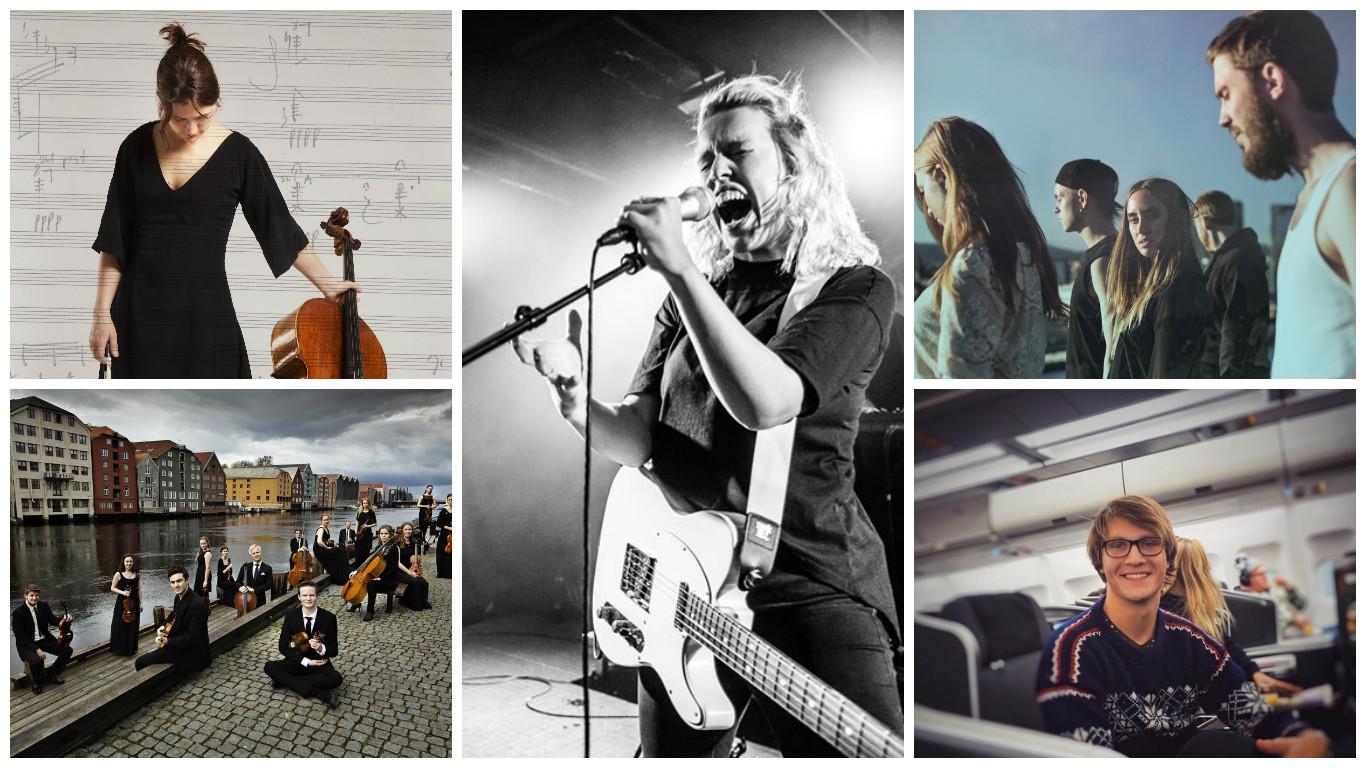 Institutt for musikk ved NTNU dominerer årets Spellemann-nominasjoner.