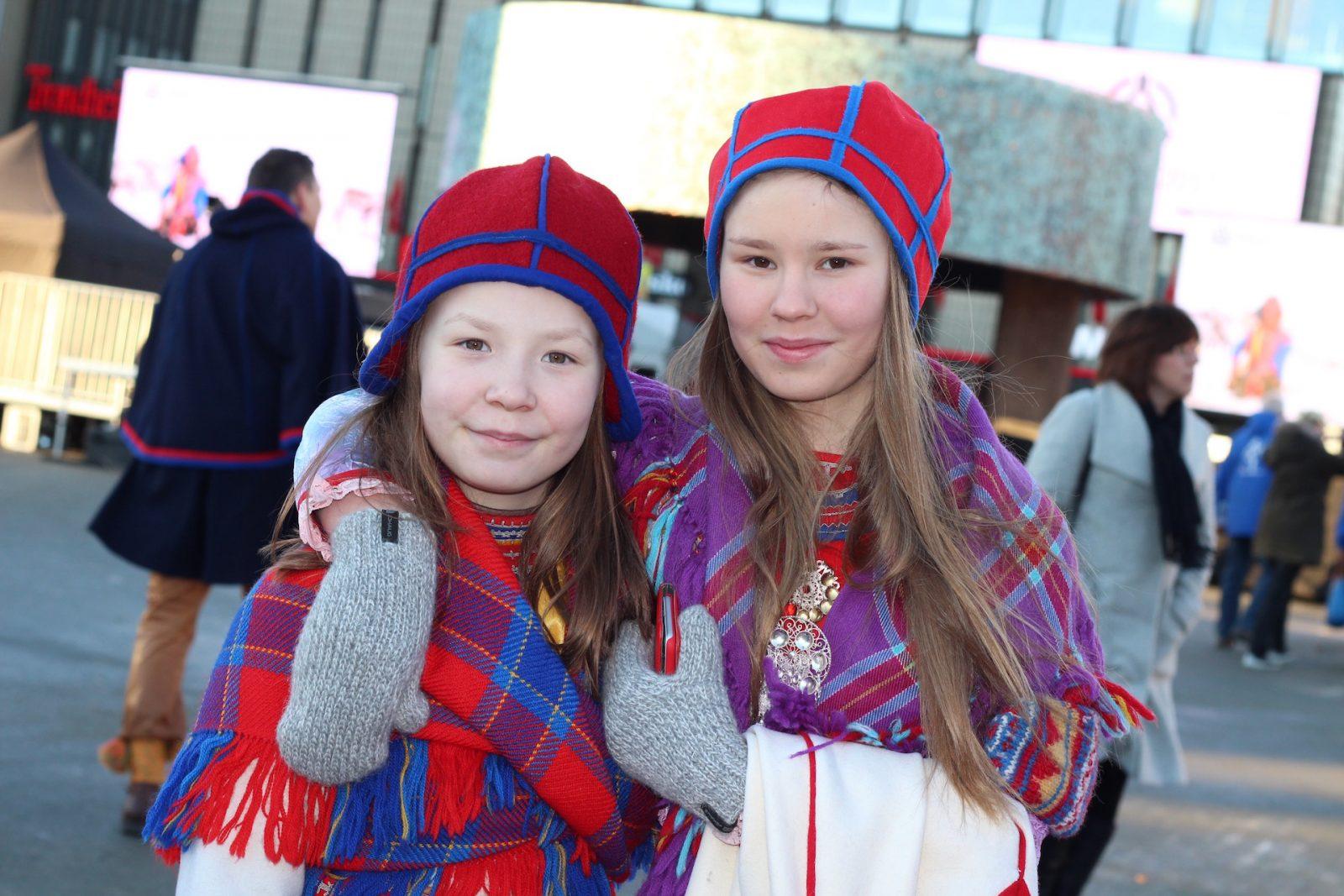 Fra åpningsdagen av den samiske jubileumsuka Tråante 2017 i Trondheim. Foto: Kjersti Lunden Nilsen.